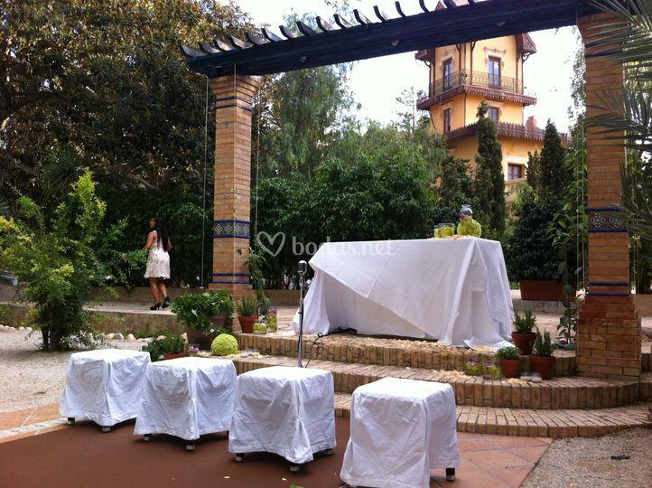 Ceremonia Jardines de Abril