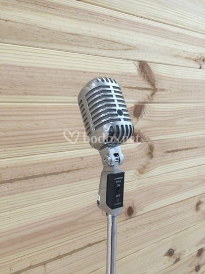 Micrófonos vintage