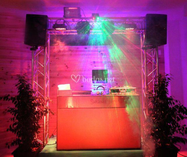 Cabina DJ Marshall