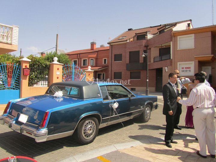 Cadillac Llegada Novio