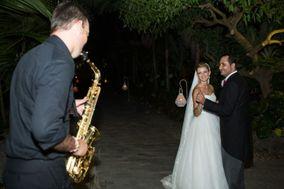 Saxofonista de bodas