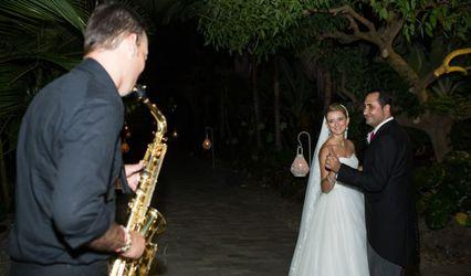 Saxofonista de bodas 1