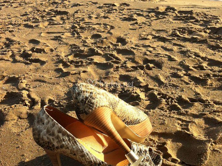 Para eventos en la playa