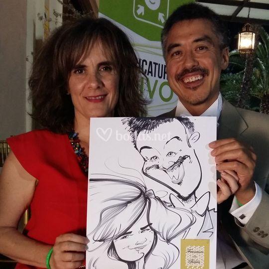 Caricatura invitados