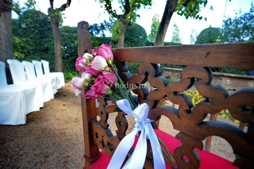 Detalle boda Ca N'illa