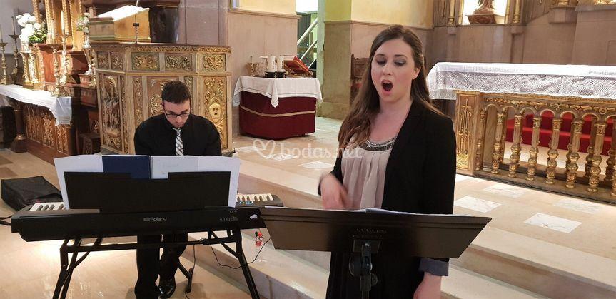 Concierto lírico en iglesia