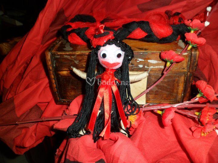 Llavero muñeca personalizadas