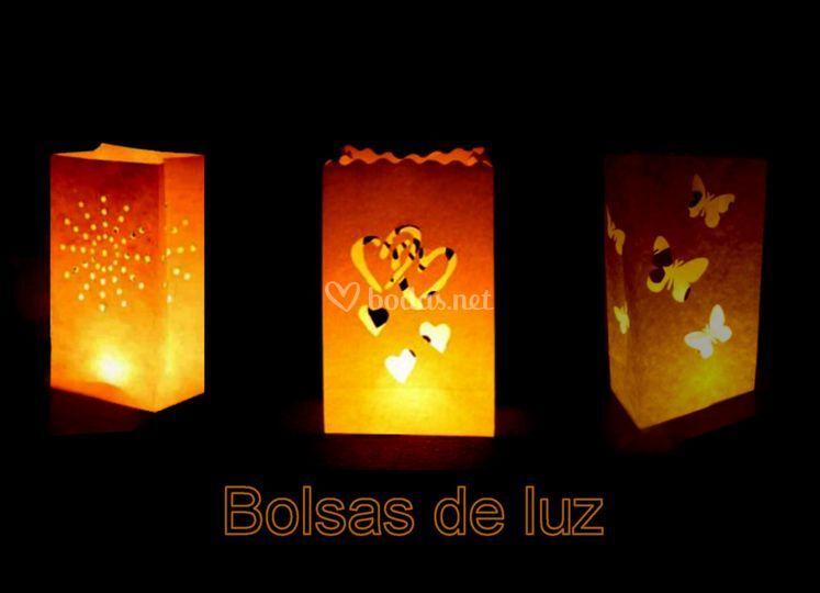 Bolsas de luz