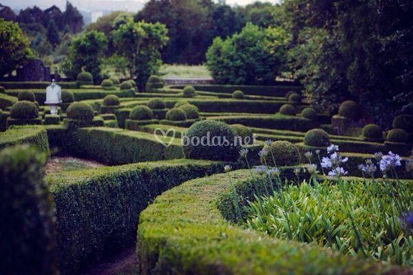 Jardines de Boj Pazo de Xaz