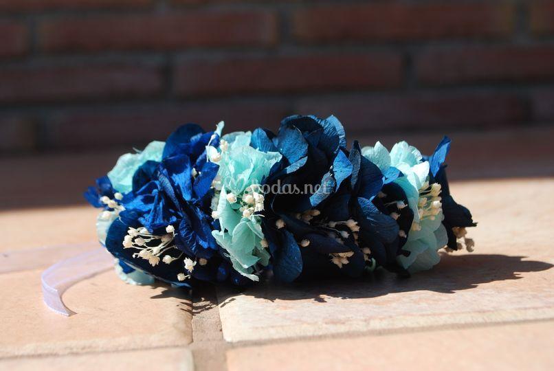 Pulsera azul turquesa