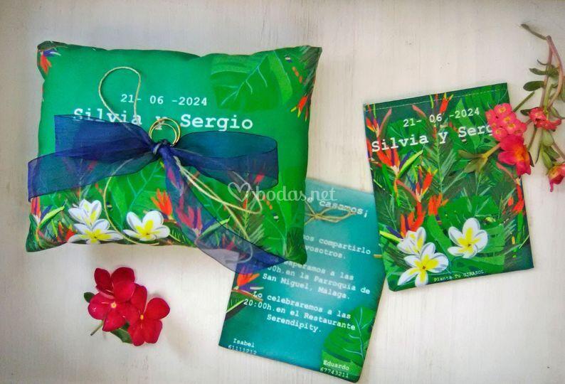 Conjunto colección tropical