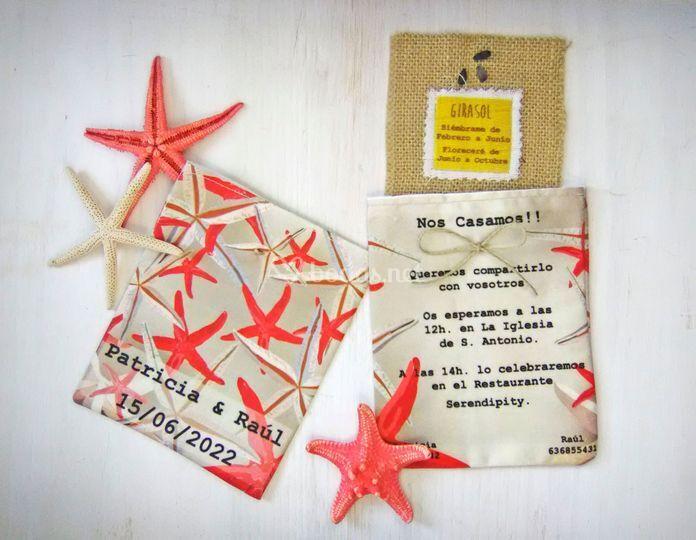 Invitación colección estrellas