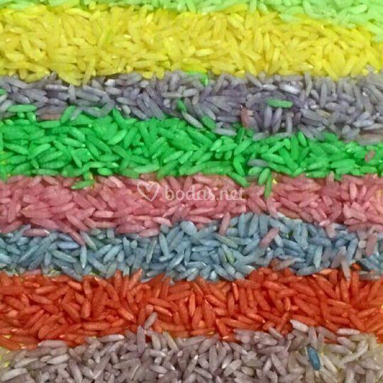 Arroz Colores