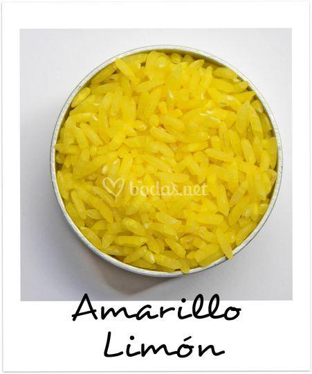 Arroz en amarillo