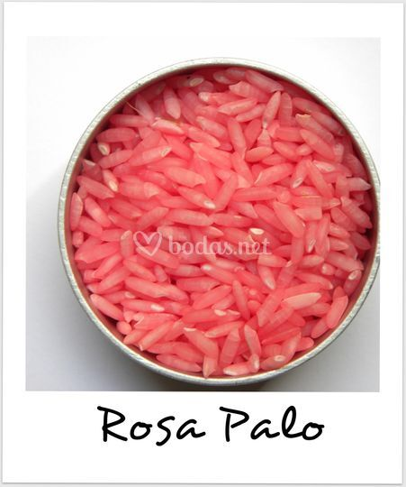 Arroz de Colores rosa