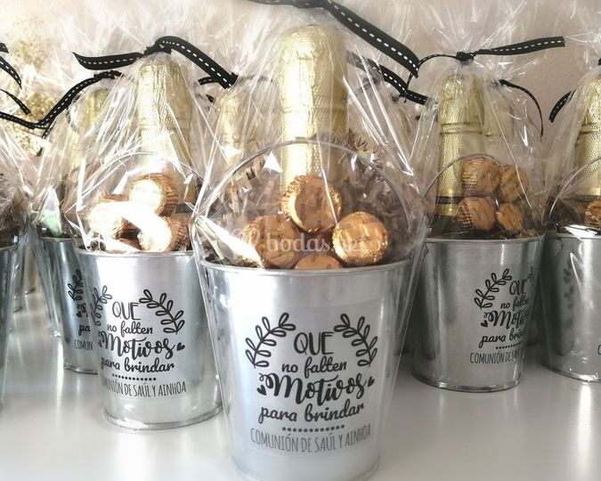 Kit mini cava con bombones
