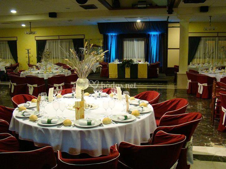 Presidencia Salón Las Moreras