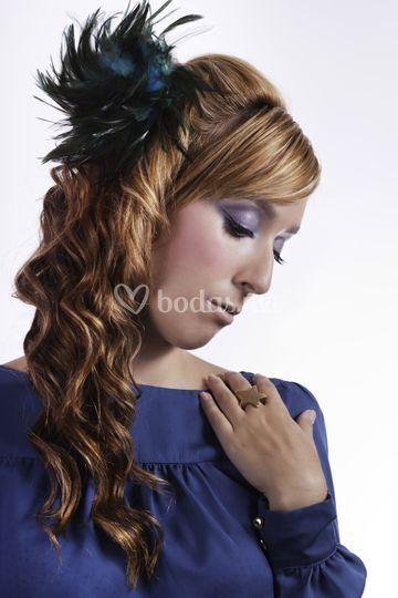 Aquamarine Makeup