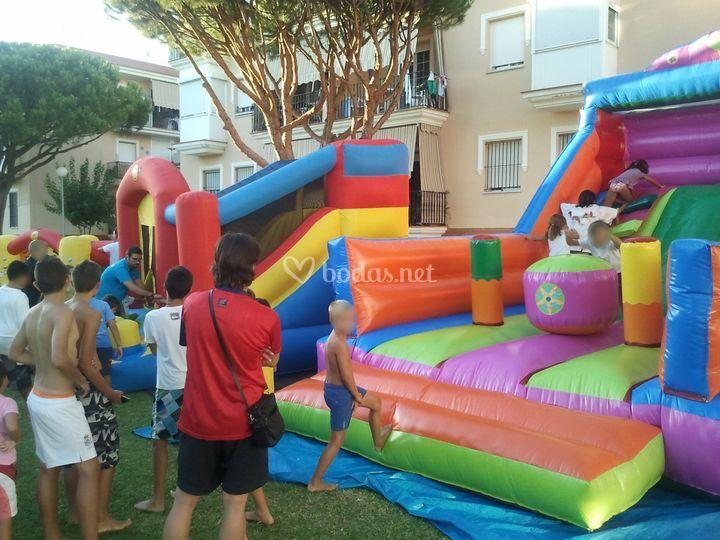 Castillos hinchables para los más pequeños