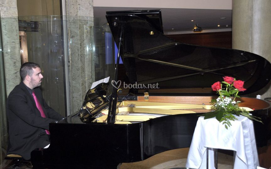 Hotel boston. Piano
