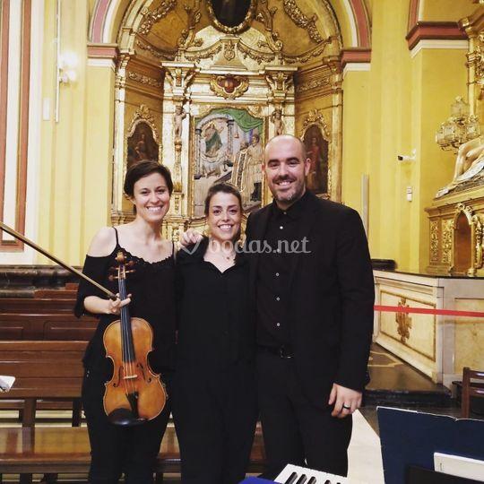 Boda con soprano y violín