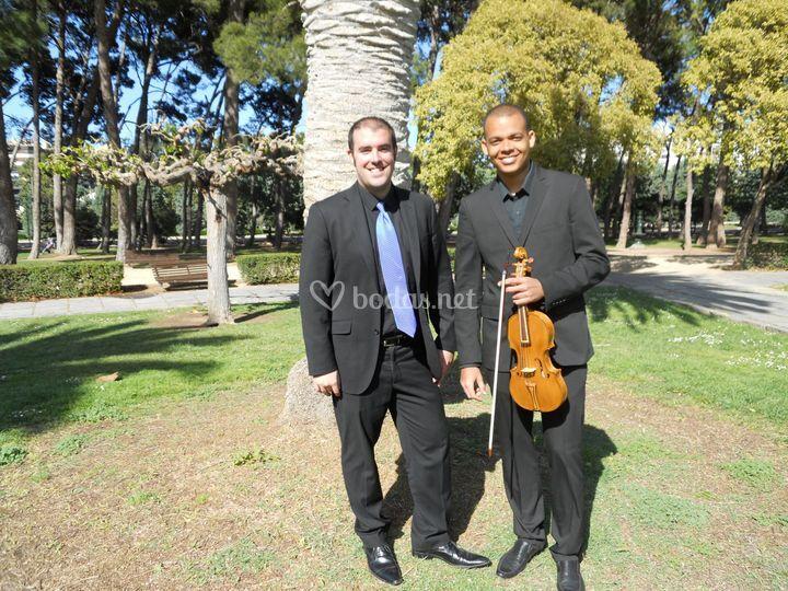 Dúo: órgano y violín