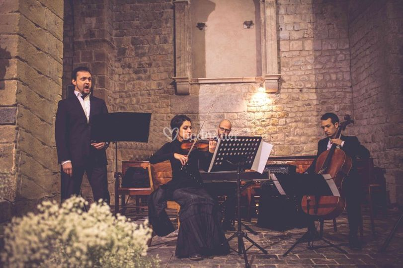 Ceremonia trio + cantante