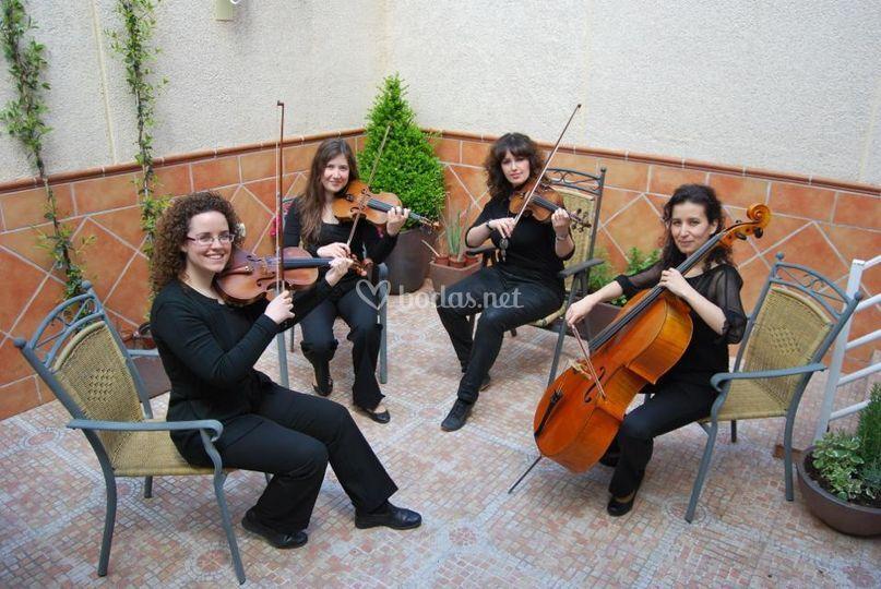 Cuarteto de cuerda Amati