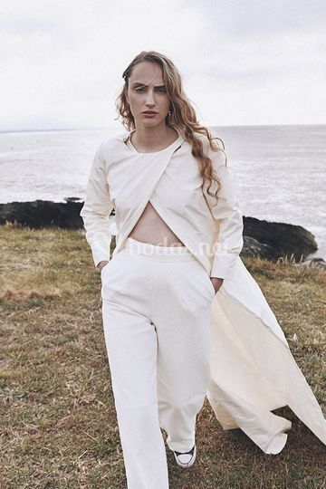 Vestido de pantalón y túnica