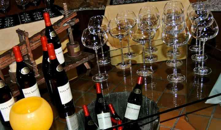 Mesa vinos