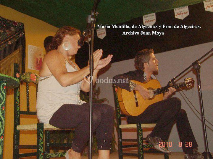 Maria Montilla y Fran de Algec