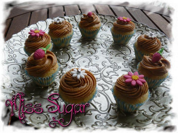 Cupcakes crema orujo