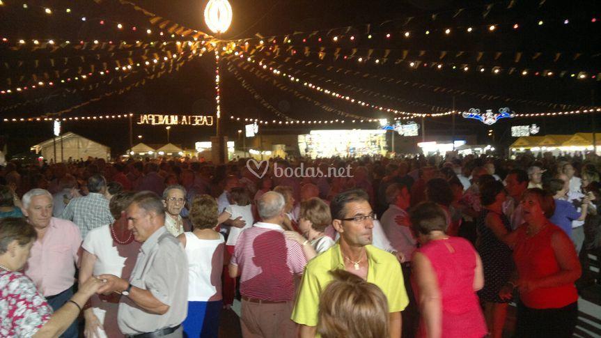 Feria de Miajadas, Caseta Munic