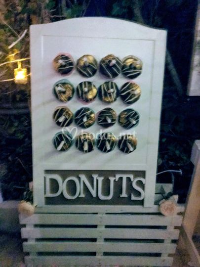 Expositor de donuts