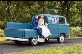 La furgona azul