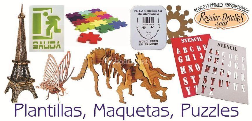Plantillas Maquetas Puzzles