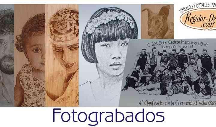 Fotograbados en Madera, Espejo