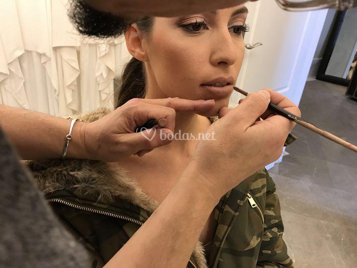 Maquillaje de novia de Kokoa
