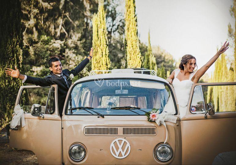 Viaje con Volkswagen