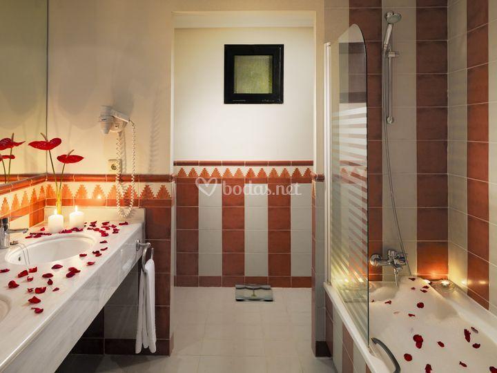 Baño Junior Suite Honey Moon