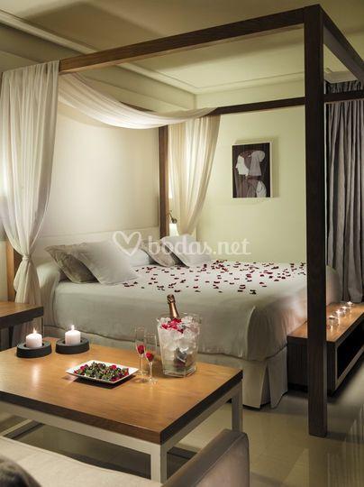 Cama romántica Junior Suite