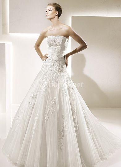 Vestido clásico La Sposa
