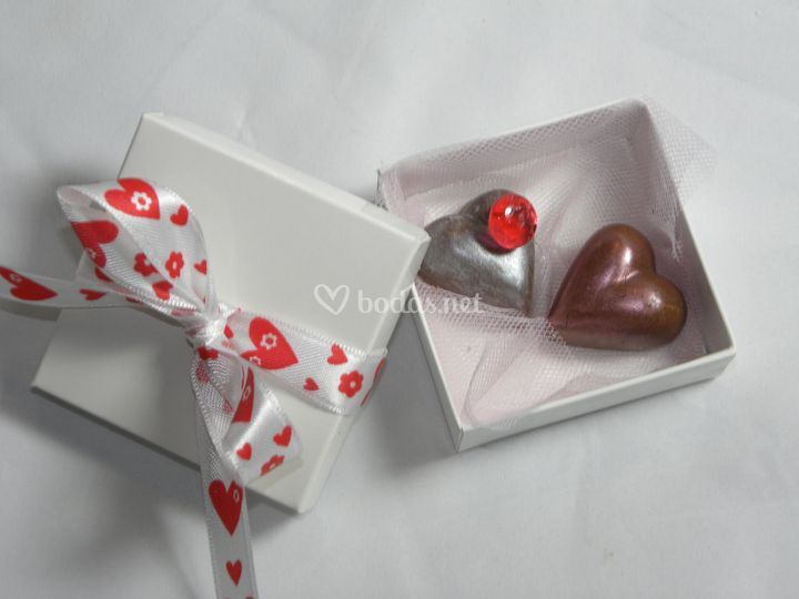 Bombones corazón