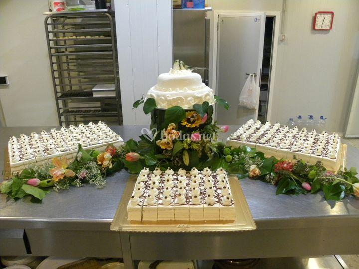 Montaje pequeño buffet