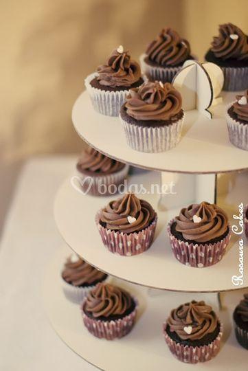 Cupcakes tower, última moda