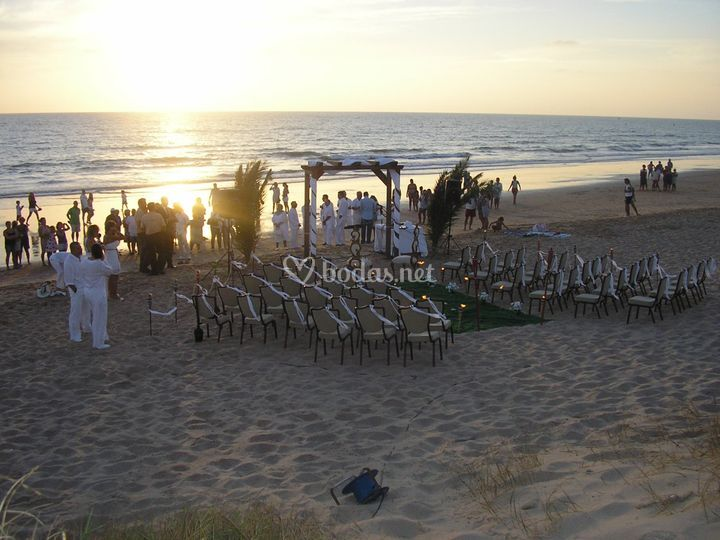 Ceremonia Civil en la Playa