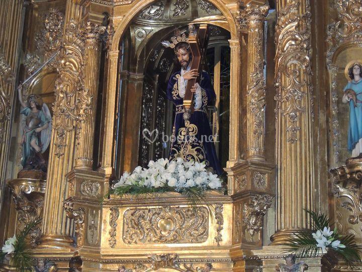 Cristo/retablo