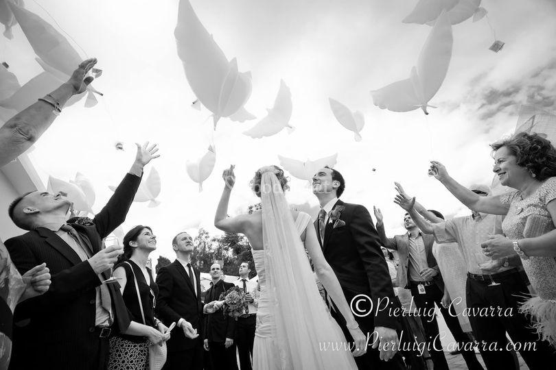 Llumywings en boda