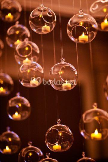 Decoración con Lightbubbles