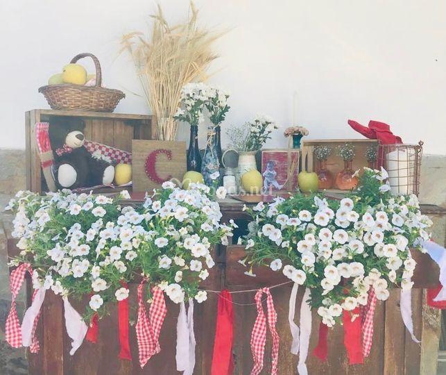 Mesa dulce picnic